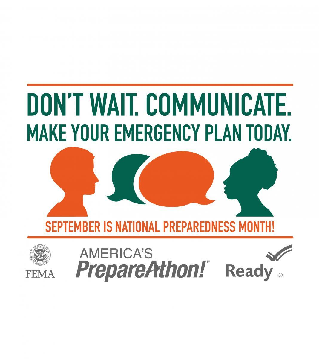 National Preparedness Month Promo image