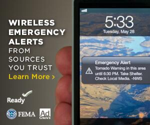 Wireless emergency alert telephone