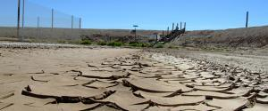 drought parched earth.
