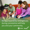 Being prepared for emergencies during coronavirus will help you and your community.